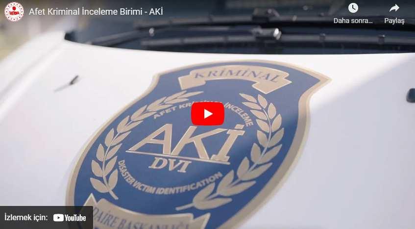 Afet Kriminal İnceleme Birimi 30 Saniyede Parmak İzinden Afetzedenin Kimliğini Belirliyor