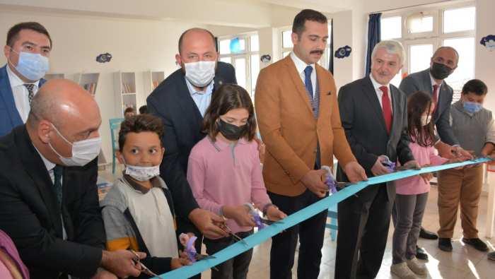 Mihallıççık'da Hürriyet İlkokulu Zekâ Atölyesi'nin Açılışı Gerçekleştirildi