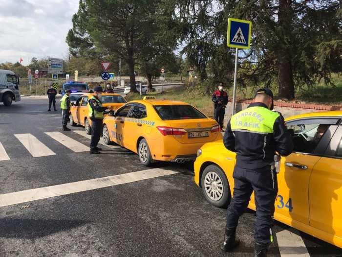 Türkiye Genelinde Vale ve Taksilere Yönelik Denetim Yapıldı