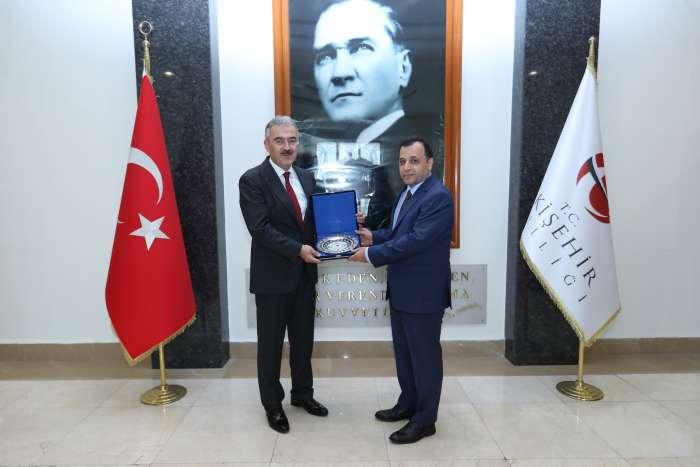 Anayasa Mahkemesi Başkanı Arslan, Vali Ayyıldız'ı Ziyaret Etti