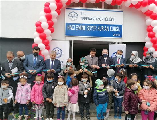 Hacı Emine Soyer Kur'an Kursu Hizmete Açıldı