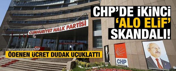 "CHP'de ikinci ""Alo Elif"" skandalı!"
