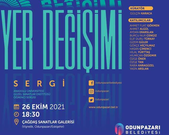Çağdaş Sanatlar Galerisi kapıların 'Yer Değişimi' sergisi ile açıyor