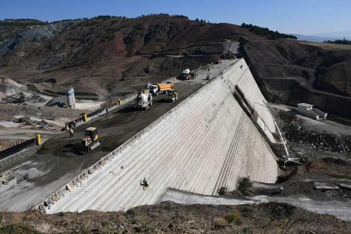 Gündüzler Barajı'nda Sona Doğru
