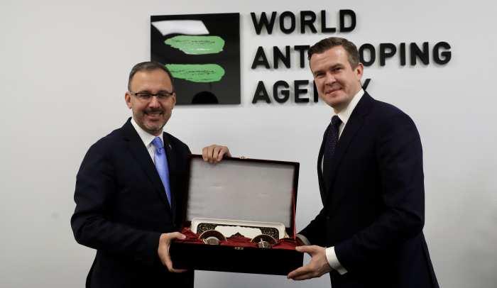 Bakan Kasapoğlu WADA'nın Mütevelli Heyeti'nde Yer Alacak