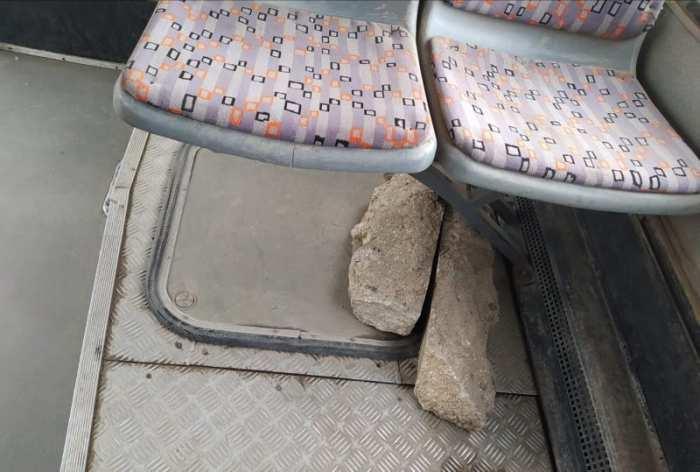 Otobüsdeki ŞOK ÖNLEM..