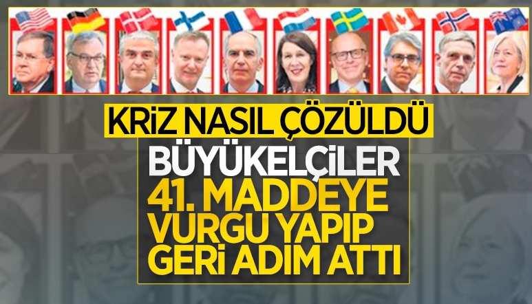 Türkiye'nin kararlı duruşu, büyükelçi krizini sonlandırdı
