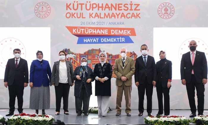 """""""KÜTÜPHANESİZ OKUL KALMAYACAK"""""""