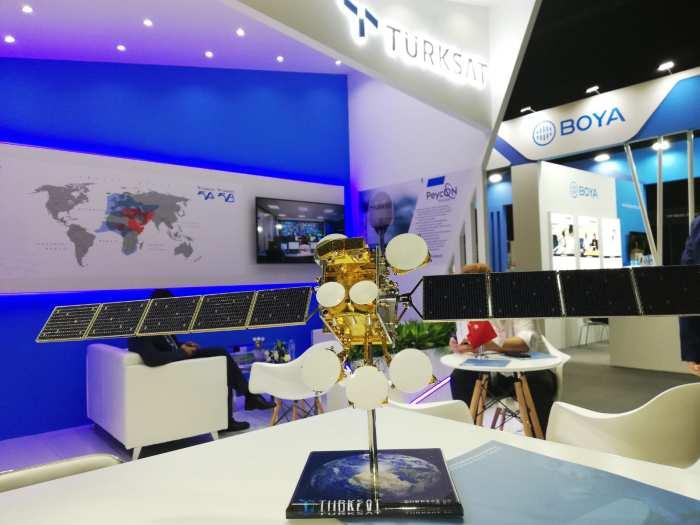 Türksat, 5'inci Nesil Uydularının Gücüyle CABSAT'ta Yerini Aldı
