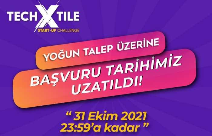 TECHXTILE START-UP CHALLENGE BAŞVURULARI 31 EKİM'E KADAR UZATILDI