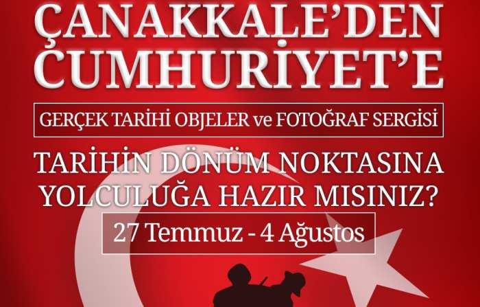 Çanakkale'den Cumhuriyet'e Sergisi