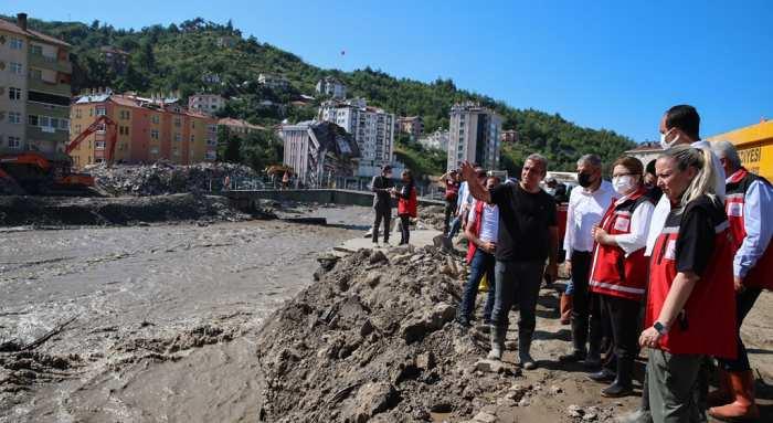 Doğal Afetlerde 124,3 milyon TL nakdi yardım YAPILDI