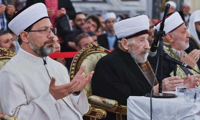 Reisü'l Kurra Hafız Ahmet Arslanlar hoca vefat etti