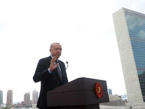 Türkevi Binamız, Birleşmiş Milletlere, çok taraflılığa, adalete ve barışa olan inancımızın da bir sembolüdür