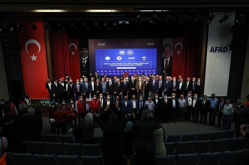 """Bakan Soylu: """"Türkiye, AFAD Başkanlığı eliyle ortaya koyduğu yeni yapılanmayla çağ atlamıştır."""""""