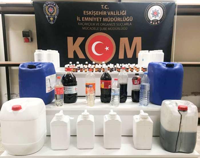 Sahte Alkol Üretimi Polise Takıldı