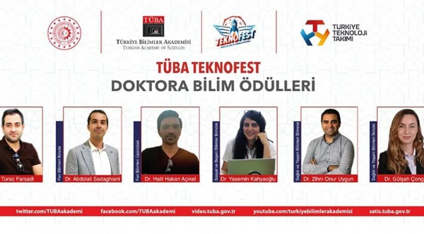 TÜBA TEKNOFEST'ten Anadolu Üniversitesi öğrencisine birincilik ödülü